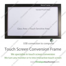 "70"" Multi Touch Screen Conversion Frame - Frame Only, no glass, assembly required"